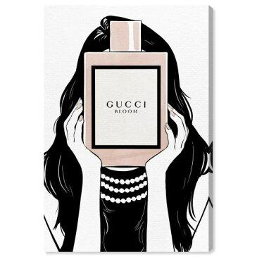 【送料無料+割引クーポン】【まとめ買い割引★2枚目5%+3枚目10%OFF】 Oliver Gal オリバーガル 約152x102cm Italian Perfume Girl Gucci グッチ インテリア 絵画 衣替え 引越し祝い 引っ越し祝い