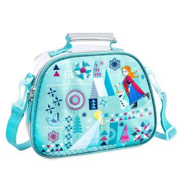 Disney ディズニー Frozen アナと雪の女王 エルサxアナ保冷機能付きランチバッグ ランチトート お弁当バッグ お弁当袋 カバン 鞄 デイバッグ 遠足 旅行 【ラクーポンで送料無料】