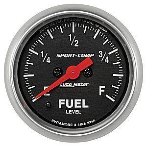 AutoMeter オートメーター フルスイープ燃料計 汎用 Φ52