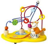 【S1】【数量限定目玉商品】ワンダーワールドサーカスビーズコースター知育玩具おもちゃ木のおもちゃ木製玩具1歳【RCP】