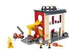 【数量限定特価】BRIOブリオファイヤーステーション33833ブリオジャパン正規品出産祝い3歳頃〜木製玩具木のおもちゃ電車機関車【RCP】