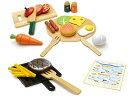 ウッディプッディ木のおもちゃ はじめてのおままごと 洋食屋さんセットG05-1143 おままごと 知育玩具 木製玩具おもちゃ