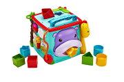 【新商品】DNY97バイリンガル・ラーニングボックスマテルフィッシャープライス6ヶ月からベビー玩具知育玩具ブロック【RCP】