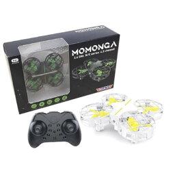 【送料無料】室内で遊べる安価な小型ドローン トップエース MOMONGA 小型ドローン