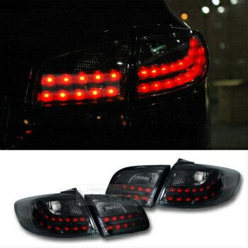 アウディ テールライト Rear LED Tail light Lamp Audi Q7 Style Black Edition for HYUNDAI 06-12 Santa Fe リアは、HYUNDAI 6月12日サンタフェのためのテールライトランプアウディQ7スタイルブラックエディションをLED