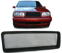ボルボ グリル Black finish front grill sports radiator gr...