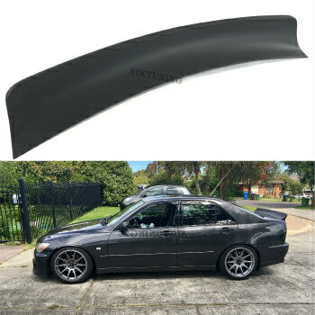 外装・エアロパーツ, フロントスポイラー TOYOTA Altezza Lexus IS200 Toyota Altezza Rocket Bunny Rear Boot Trunk Spoiler Ducktail Wing IS200