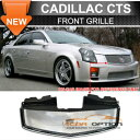Cadillac CTS グリル 03-07 Cadillac CTS Cts V Stainless Me...