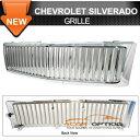 Chevrolet Silverado グリル 07-13 Chevy Silverado Vertical...