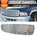 Dodge Dakota グリル 97-03 Dodge Dakota Durango 2Dr 4Dr Sp...