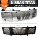 Nissan Titan グリル Fit 04-07 Nissan Titan Armada Chrome ...