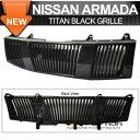 Nissan Titan グリル Fit 04-07 Nissan Titan Armada Vertica...
