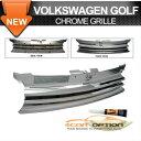 Volks Wagen Golf 4 グリル 99-05 Volkswagen Golf 4 Iv Chro...
