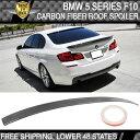 USパーツ USAストック11-16 BMW 5シリーズF10 3Dスタイルルー...
