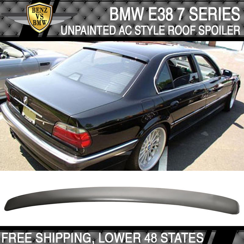 外装・エアロパーツ, その他 US 95 96 97 98 99 00 01 BMW E38 74Dr ACABS 95 96 97 98 99 00 01 BMW E38 7 Series 4Dr AC Style Roof Spoiler ABS Unpainted
