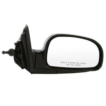 USミラー ヒュンダイサンタフェの新しいミラー乗客の右側の滑らかな黒RH New Mirror Passenger Right Side Smooth black RH for a Hyundai Santa Fe