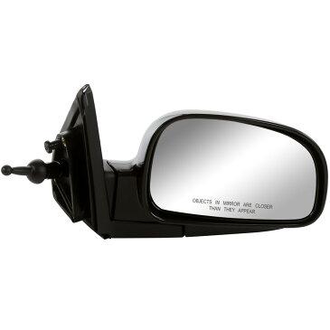USミラー 現代サンタフェの新しいマニュアル乗客サイドミラー New Manual Passengers Side Mirror for a Hyundai Santa Fe With Lifetime Warranty