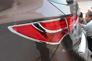 US ライトガード プロテクター ヒュンダイサンタフェスポーツ2013のクロムテールライトリアガードトリムカバー chrome tail light rear Guards trim cover for hyundai Santa Fe sport 2013