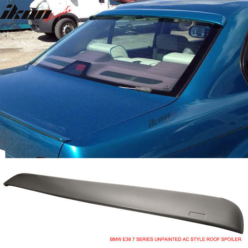 外装・エアロパーツ, その他 US 95-01 BMW E38 74Door AC - ABS 95-01 BMW E38 7 Series 4Door AC Style Unpainted Roof Spoiler - ABS