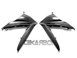 フェアリングsuzuki2007-2008スズキGSXR1000カーボンファイバーアッパーサイドフェアリング-1x1プレーンウィーブ2007-2008SuzukiGSXR1000CarbonFiberUpperSideFairings-1x1PlainWeave