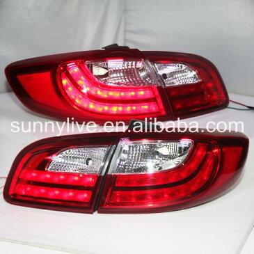 USテールライト[右ハンドル・日本仕様]ヒュンダイサンタフェLEDテールライトのためのヒュンダイ2007 - 2012年赤い白 For Hyundai Santa Fe LED Tail light For HYUNDAI 2007-2012 year Red White Color LF