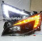 USヘッドライト[右ハンドル・日本仕様]Audel Astra用のExcelle XTのためのビュイックのGMのためにLEDエ For GM for Buick for Excelle XT for Opel Astra LED Angel Eye Head Lamp 2010 - 2011 JC