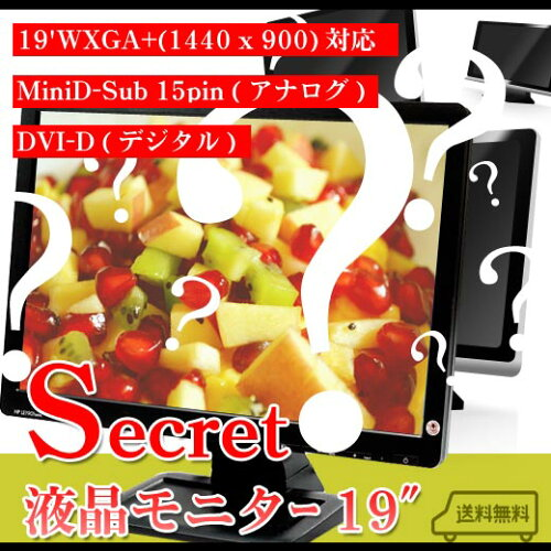 secret-5/超お買い得!シークレット液晶モニター 19インチTFTワイド P20Feb16