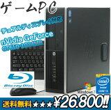 【デュアルディスプレイ対応】【Blu-ray】ゲームPCスペシャル!!/HP Compaq 6200Pro SFF-2100【送料無料】【中古パソコン/中古PC】