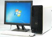 DELL Studio XPS 8000-2670MT■20液晶セット (デル Windows7 Corei5 DVDスーパーマルチドライブ グラボ ビデオカード GeForce) 【中古】 【中古パソコン/中古PC】
