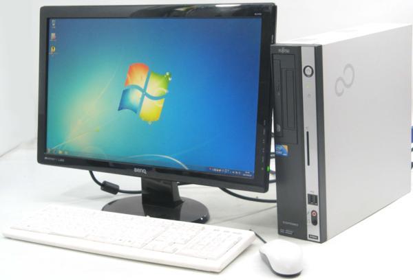 パソコン, デスクトップPC  ESPRIMO D750A22( Windows7 Corei3)PC