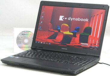 中古ノートパソコン 東芝 dynabook Satellite B550/B PB550BGBN71A51(東芝 Windows7 Corei3)【中古】【中古パソコン/中古PC】