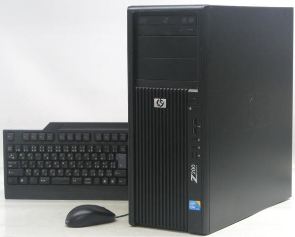 パソコン, デスクトップPC  HP Z200 Workstation( Windows7 Corei5 )PC