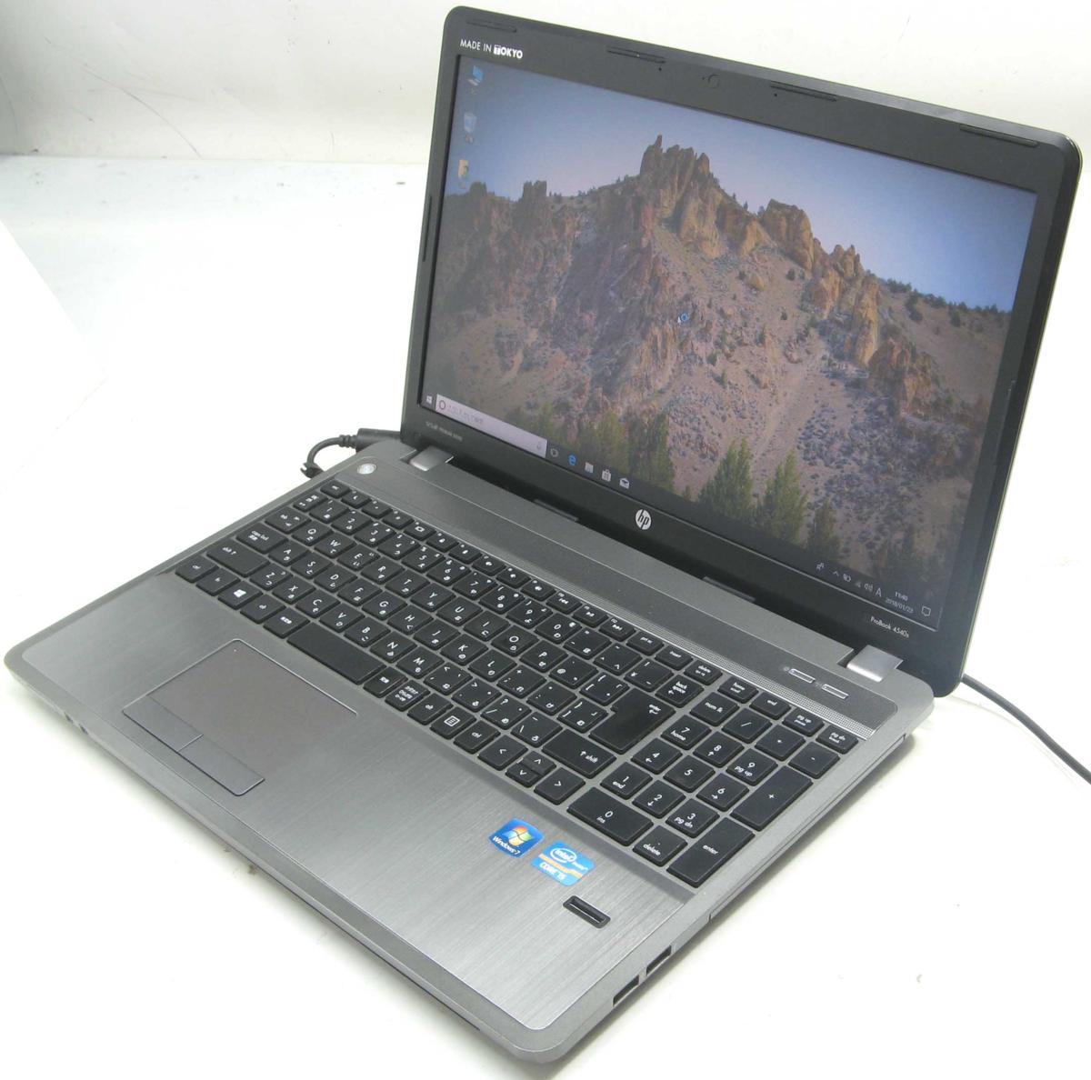 パソコン, ノートPC  HP ProBook 4540S( Windows10 Corei5 15.6 SSD DVD HDMI)PC