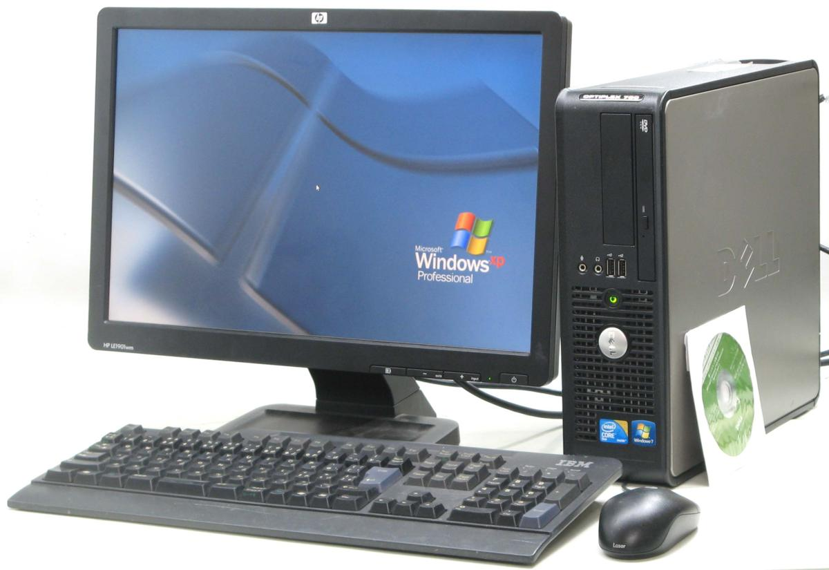 パソコン, デスクトップPC  Optiplex 780-E7500SF19W( WindowsXP)PC