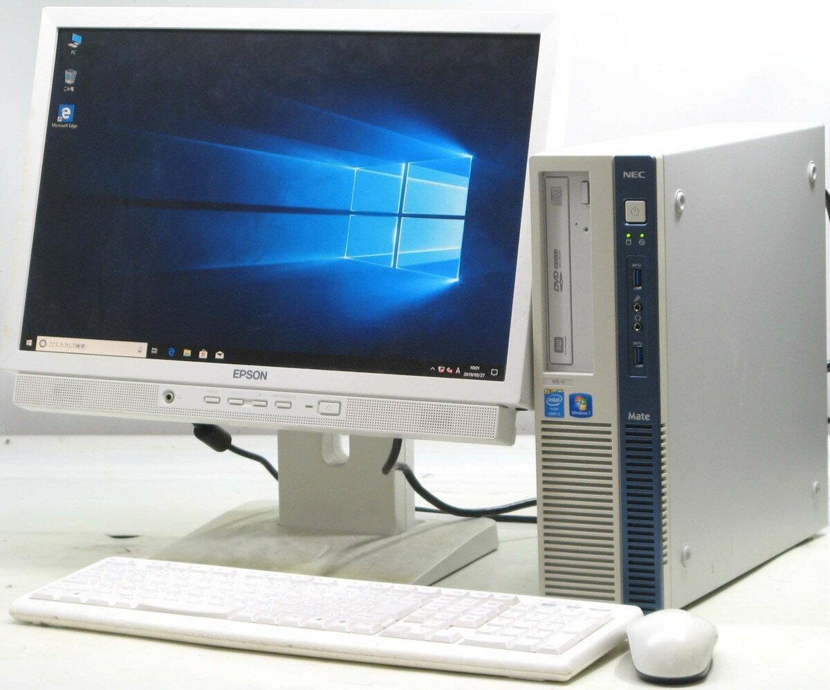 パソコン, デスクトップPC  NEC PC-MK32MBZCH19W NEC Windows10 Corei5 4GB DVD PC