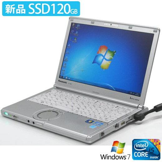 パソコン, ノートPC Panasonic LetsNote CF-SX2ADHCS (Windows7 Corei5 HDMI SSD)PC