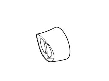 【定形外郵便対応可能】Panasonic(パナソニック)ヘアードライヤー用 速乾ノズル(ピンク用)部品コード:EHNE23P7557