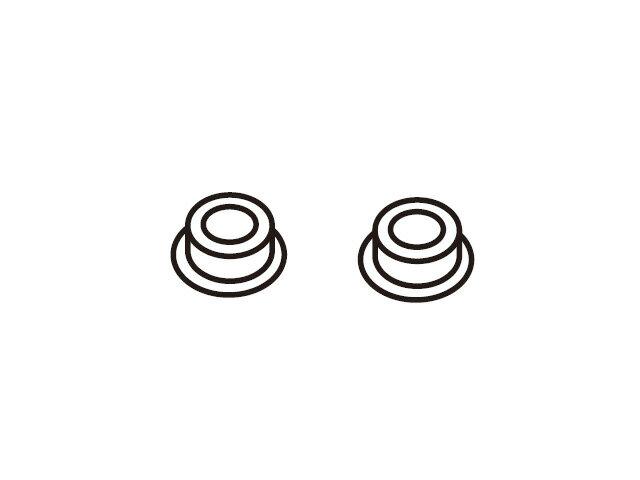 【小型宅配便(定形外郵便)対応可能】☆パナソニック(Panasonic)☆ ホームシアター ラックシアター用 ガラス扉取り付け用軸受け部品コード:RMR1858-K1 純正部品 消耗品