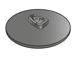 【定形外郵便対応可能】 Panasonic パナソニックホームシアター サウンドセット用 スタンドベース部品コード:RYK1637A-K