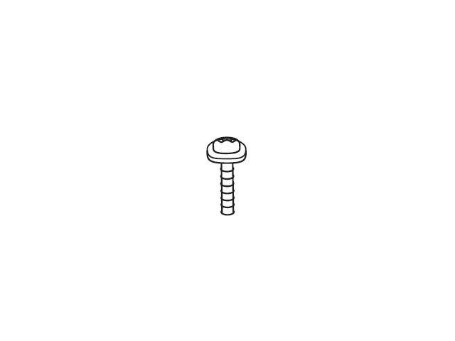 【小型宅配便(定形外郵便)対応可能】☆パナソニック(Panasonic)☆ ホームシアター サウンドボード用 転倒防止ねじ部品コード:XTW4-16JFJK 純正部品 消耗品