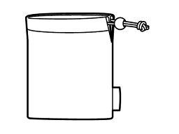 【定形外郵便対応可能】 Panasonic パナソニック ポーチのみインサイドホン用 キャリングポーチ部品コード:RFX7455 水筒部品