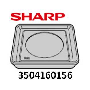 ◆SHARP ウォーターオーブン用 角皿(1枚) ◆◆◆シャープ ヘルシオ◆◆部品コード:3504160156■新品 対応機種:AX-HT3-T AX-HT3-W AX-HT4-C