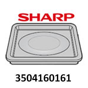 ◆SHARP ウォーターオーブン用 角皿◆◆◆シャープ ヘルシオ◆◆部品コード:3504160161■新品 対応機種:AX-G1-N AX-G1-R AX-GX1-R AX-GX1-W AX-L1-W AX-LY1-S AX-S1-R AX-S1-W AX-SE5-R AX-SE5-W