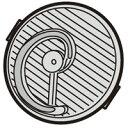 SHARP(シャープ) 掃除機用 HEPAクリーンフィルター部品コード:2173370475 純正部品 消耗品