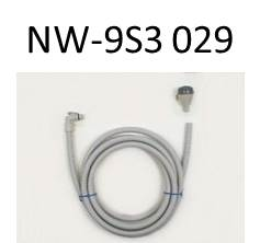 Hitachi genuine washing machines for parts NW-9S3 029 washer hot water remove hose 5 m (water hose)