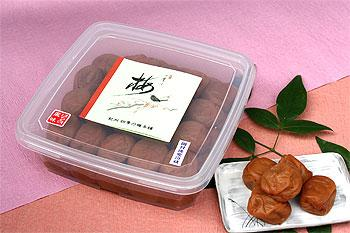 紀州四季の梅 無地箱入 ギフト 1kg [はちみつ風味]【_のし】