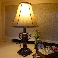 アンティークランプライトテーブルランプテーブルスタンドライト卓上ランプカフェスタイルアンティーク調LEDインテリア照明照明器具間接照明シェードおしゃれかわいいクラシックレトロリビング輸入家具アメリカミニテーブルランプME38281