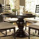 ダイニングテーブル 4人掛け 6人掛け 伸縮 伸長式 丸テーブル ダー...