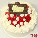2020クリスマスケーキ いちご生クリームケーキ7号 フルー