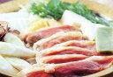 【究極のカモ見つけました!】鴨鍋セット化粧箱入 (ロース350g・団子5ケ・スープ)【楽ギフ_...